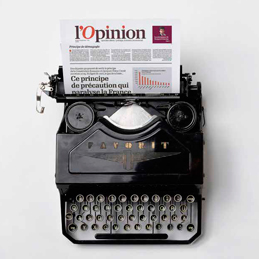 <b> L'Opinion </b>aims high with premium editorial content for influential subscribers