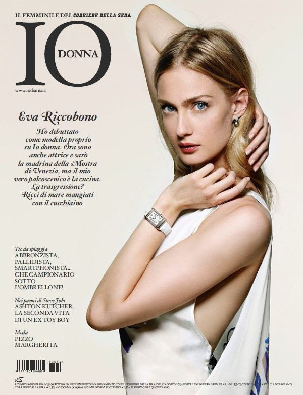 Eva Riccobono Covers Io Donna August 2013