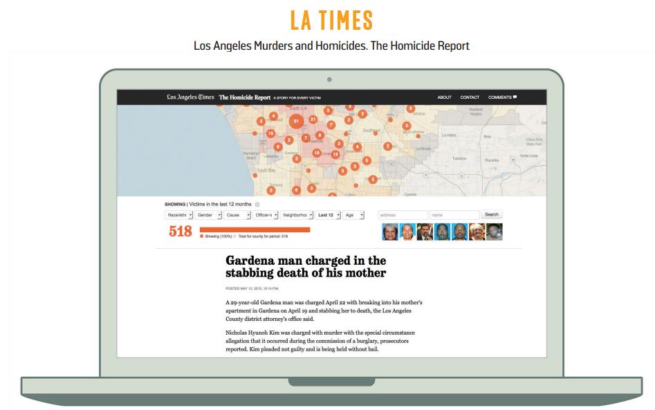 LA TIMES DATA DESK HOMICIDE REPORT