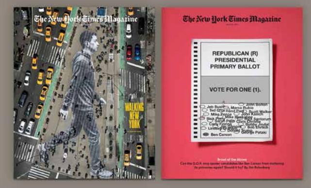 NYT Magazine weekend supplement