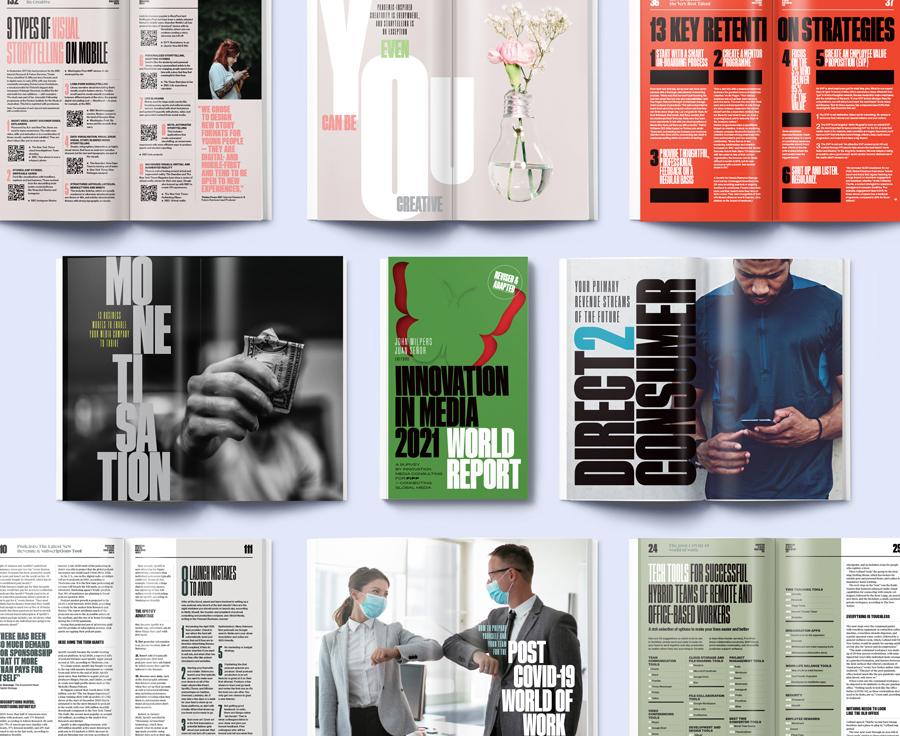 INNOVATION IN MEDIA 2021 WORLD REPORT